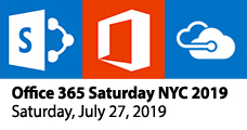 Office 365 Saturday NYC 2019